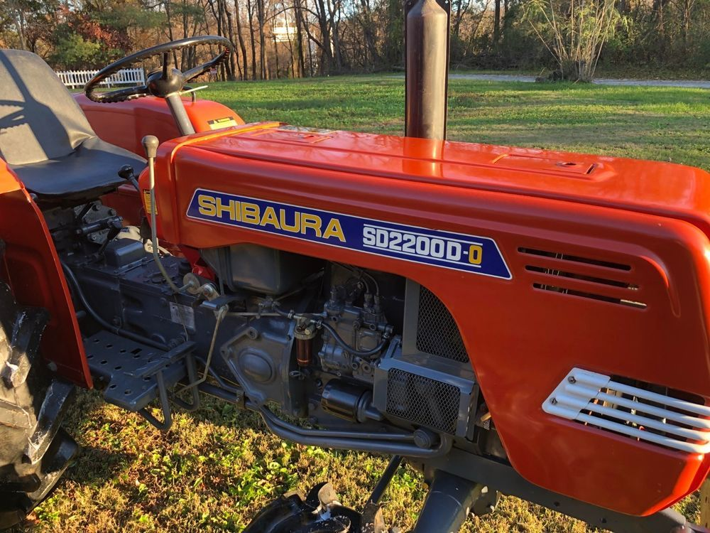 84 Shibaura SD2200D (FORD 1700) 4WD compact tractor-BARN