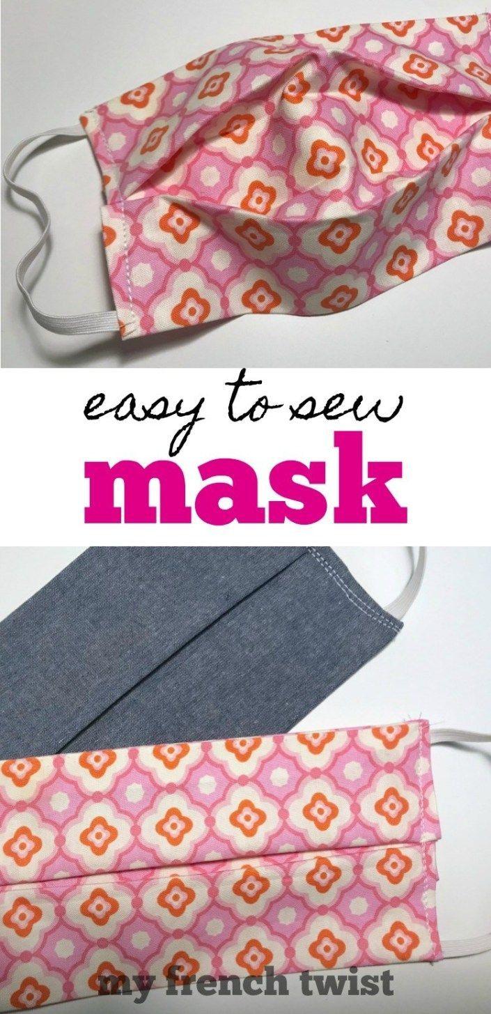 Photo of einfach zu nähende Maske – zweite Version – My French Twist –  #easytosewmask  …