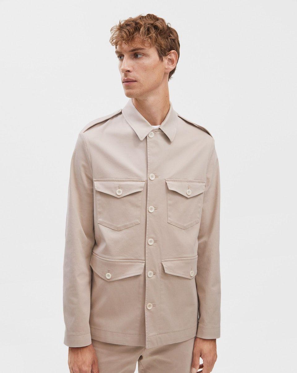 bd3ff0b15235 Oliver Cotton Jacket Khaki | Filippa K Man in 2019 | Cotton jacket ...