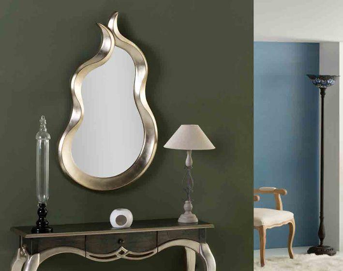 Espejos originales modelo llama espejo de pared de for Espejos originales recibidor