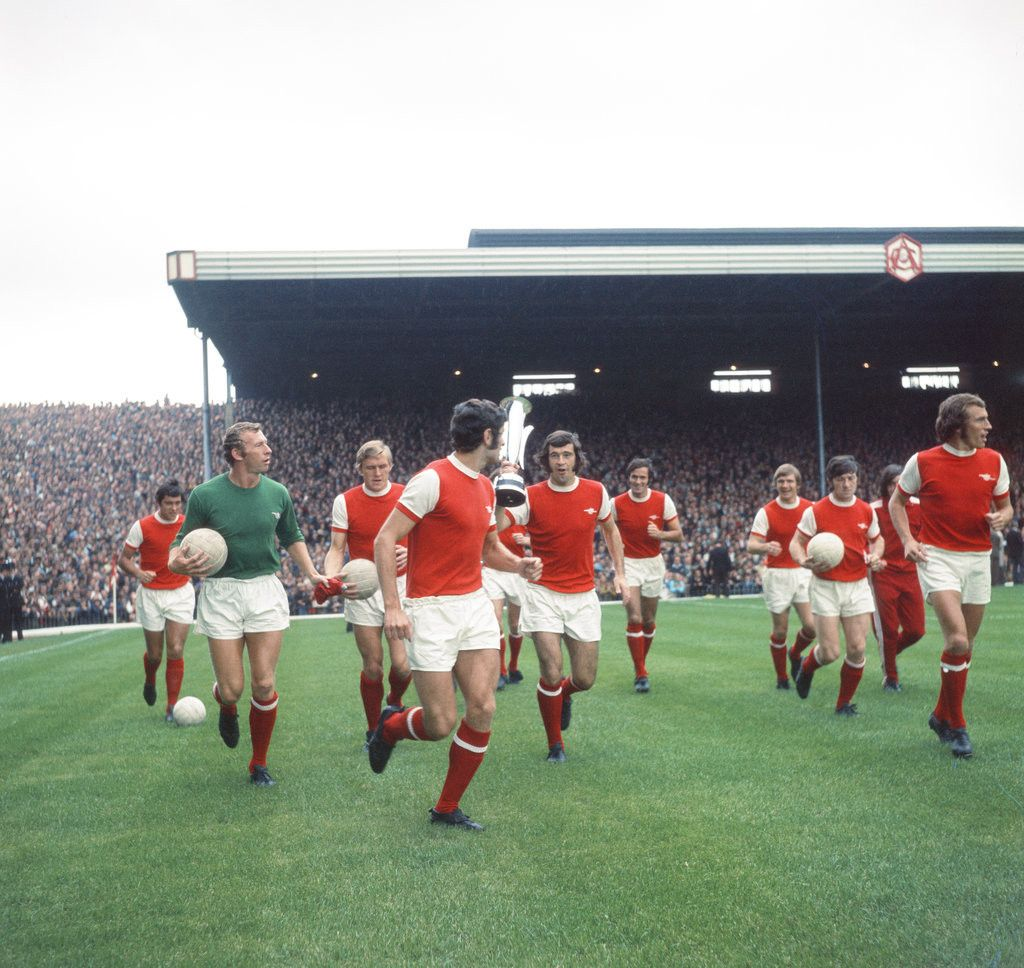 Detail Of Arsenal V Man U League Match August 1970 By Staff Places