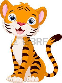 Historieta Linda De La Jirafa Imagenes Infantiles De Animales Animales Bebes Animados Tigre Para Dibujar