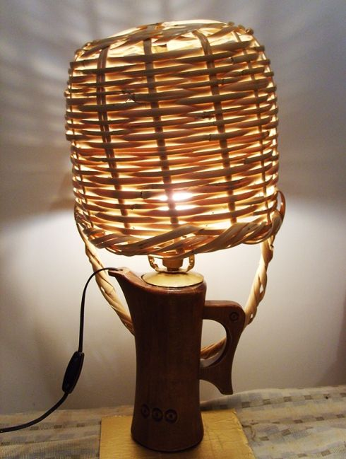 Home decor diy rustic looking chicken wire lamp rustic baskets home decor diy rustic looking chicken wire lamp greentooth Images