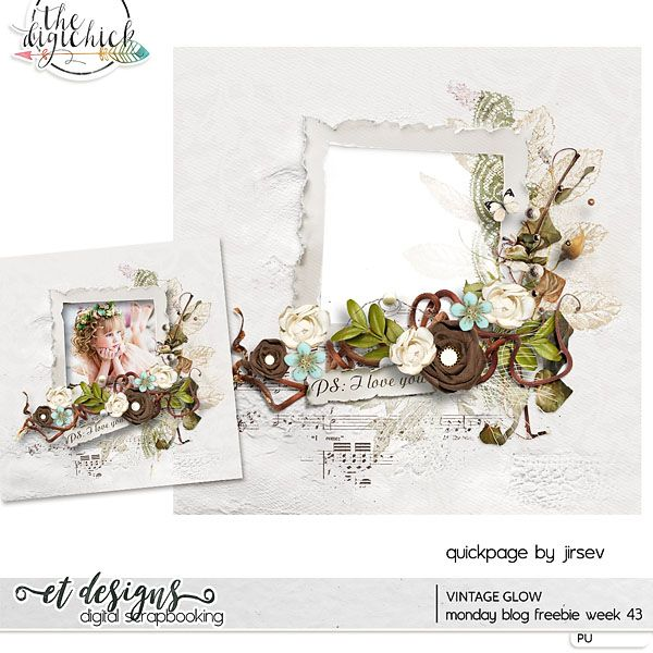et designs Monday Blog Freebie week 43 Last day of sale of - coupon layouts