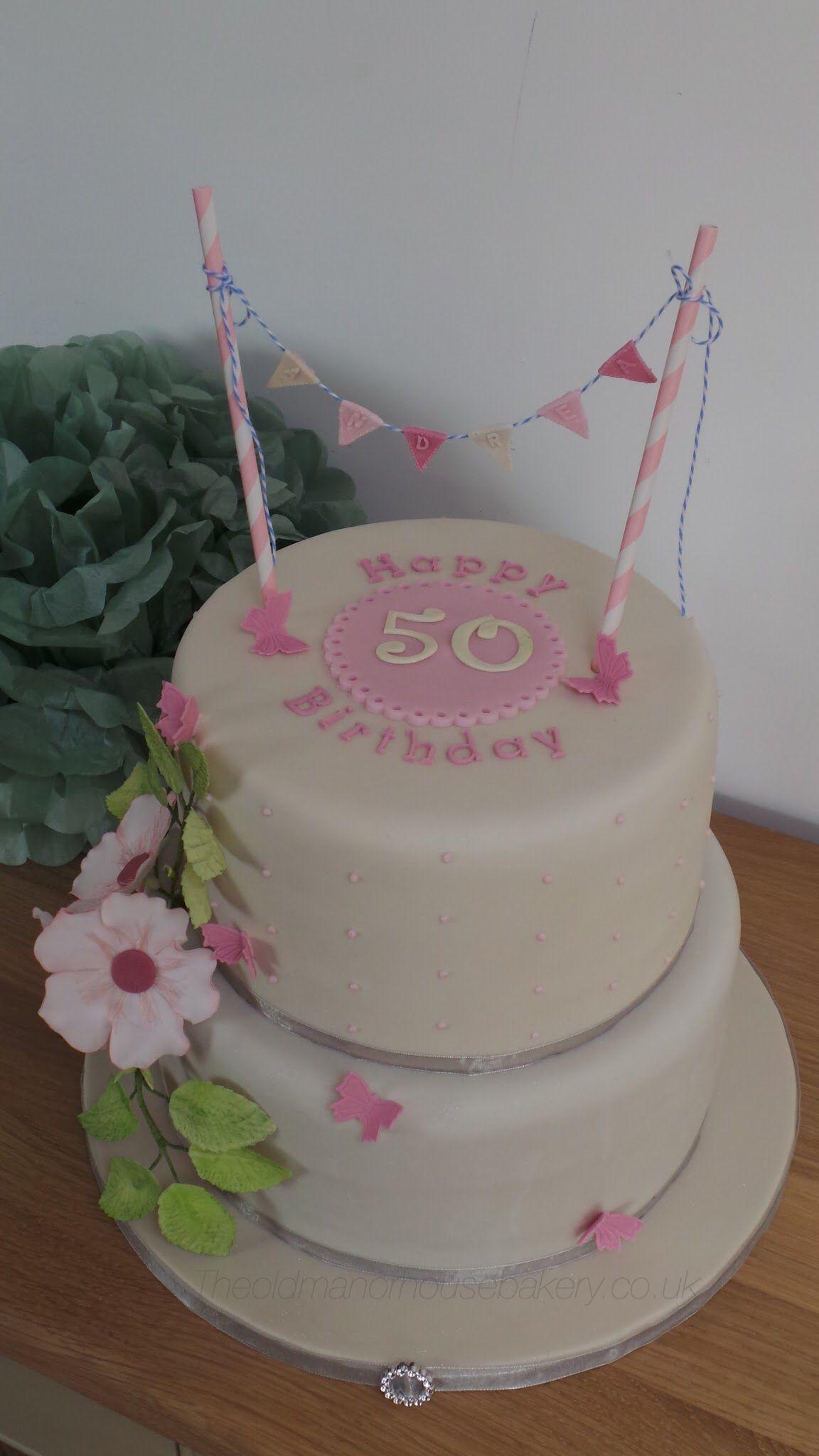 50th birthday cake decorations uk
