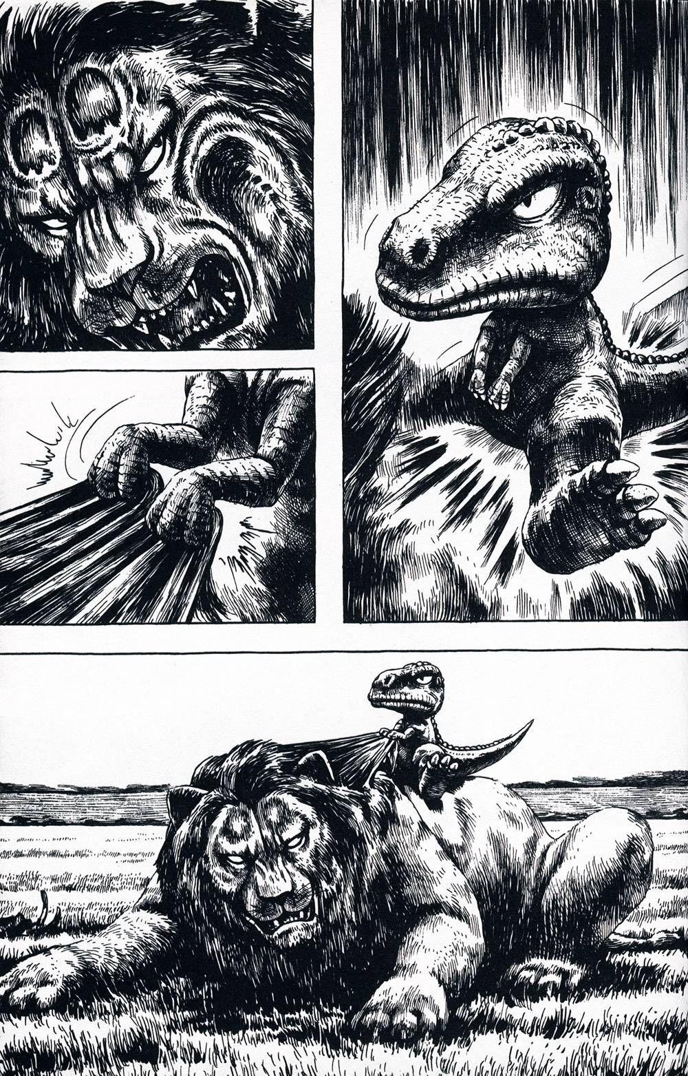 Gon The Little Dinosaur By Masashi Tanaka Terrorising Pretty Much