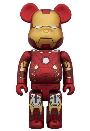 8e8e1e45 Iron Man Mark VII 100% And 400% Bearbricks From Medicom Toy. | Art ...