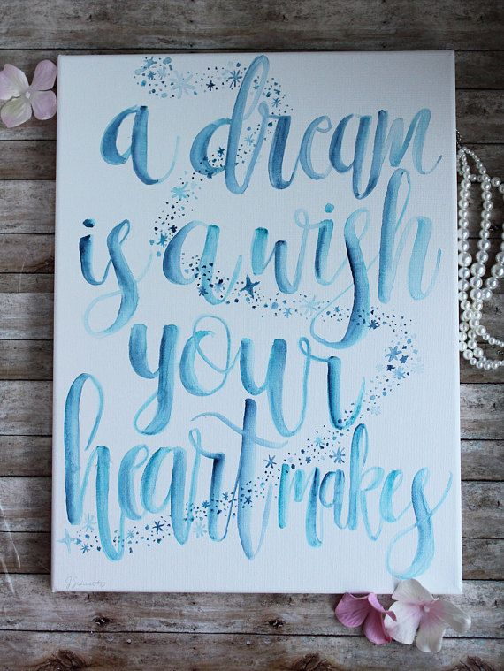 Disney canvas a dream is a wish your heart makes cinderella disney canvas a dream is a wish your heart makes cinderella diy canvas solutioingenieria Gallery