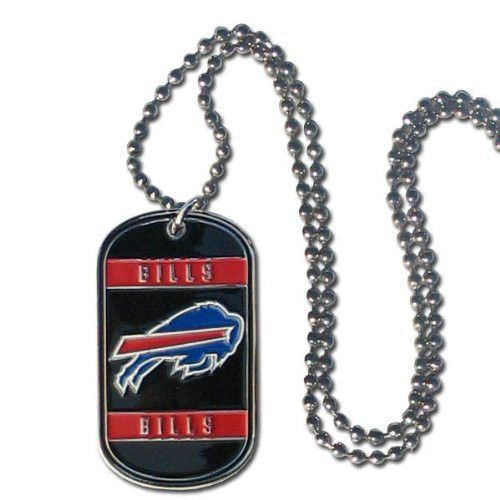Official NFL Buffalo Bills Dog Tag Necklace