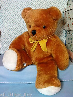 Large Vintage Teddy Bear 19 1970s Real Soft Toys Genesis 2 Watford England View More On The Link Http Www Zeppy Io Product Gb Teddy Bear Teddy Bear