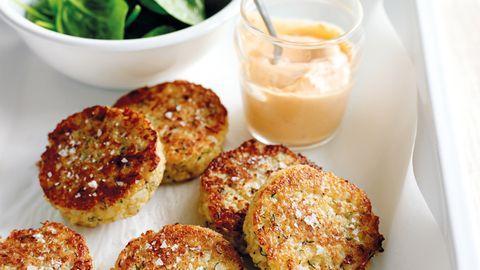 Recipe: Quinoa and cauliflower fritters | NZ Herald