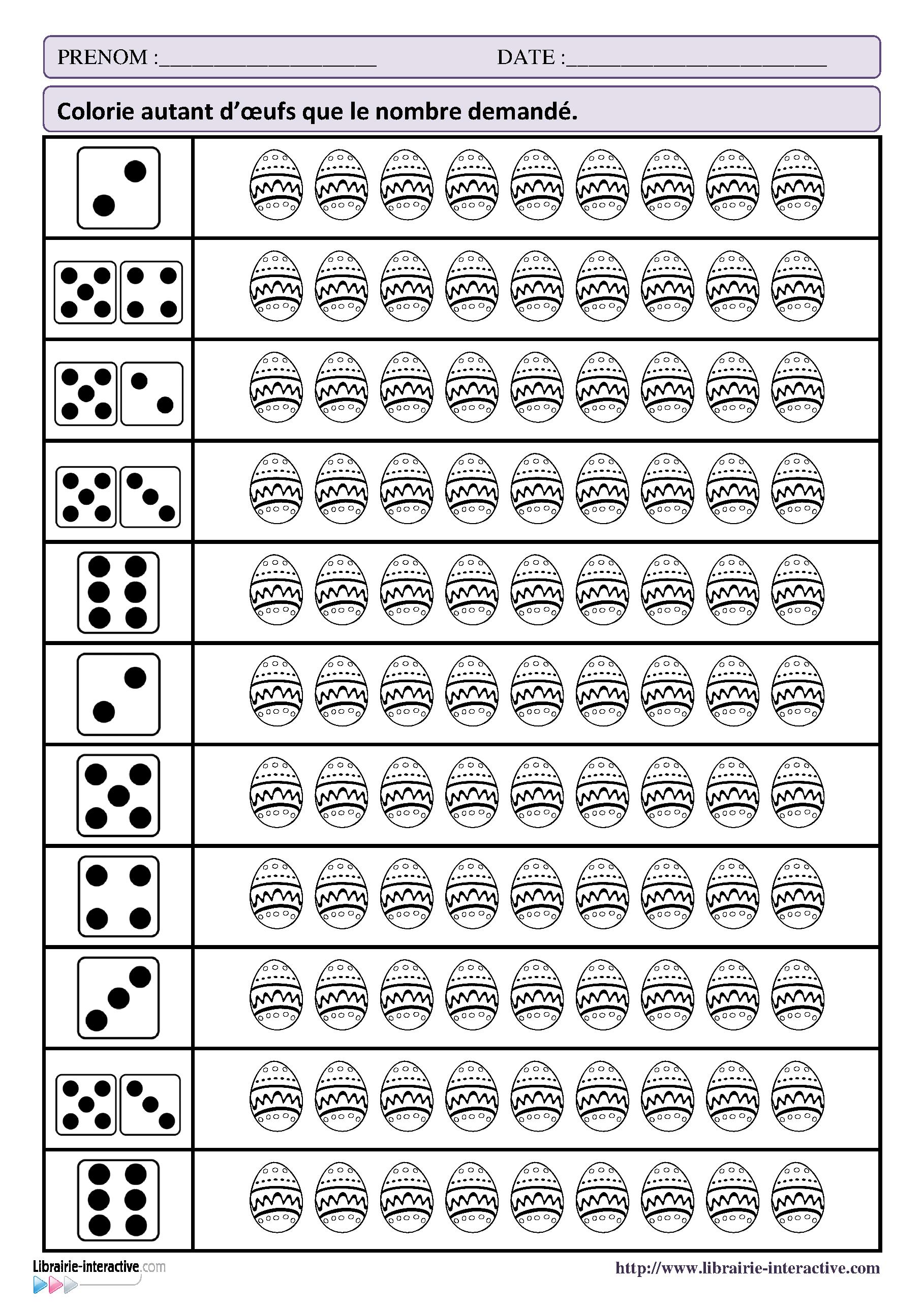 32 Fiches D Exercices Mathematiques Pour La Maternelle Ps