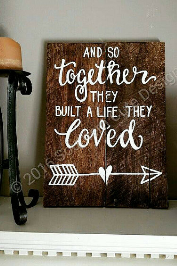 31 99 Love Wood Sign Wood Signs Wood Signs Sayings Wedding Signs