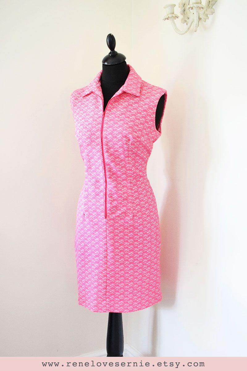 Vintage 1960s Pink Shift Dress Summer Tennis Dress Etsy Dresses Summer Shift Dress Shift Dress [ 1200 x 800 Pixel ]