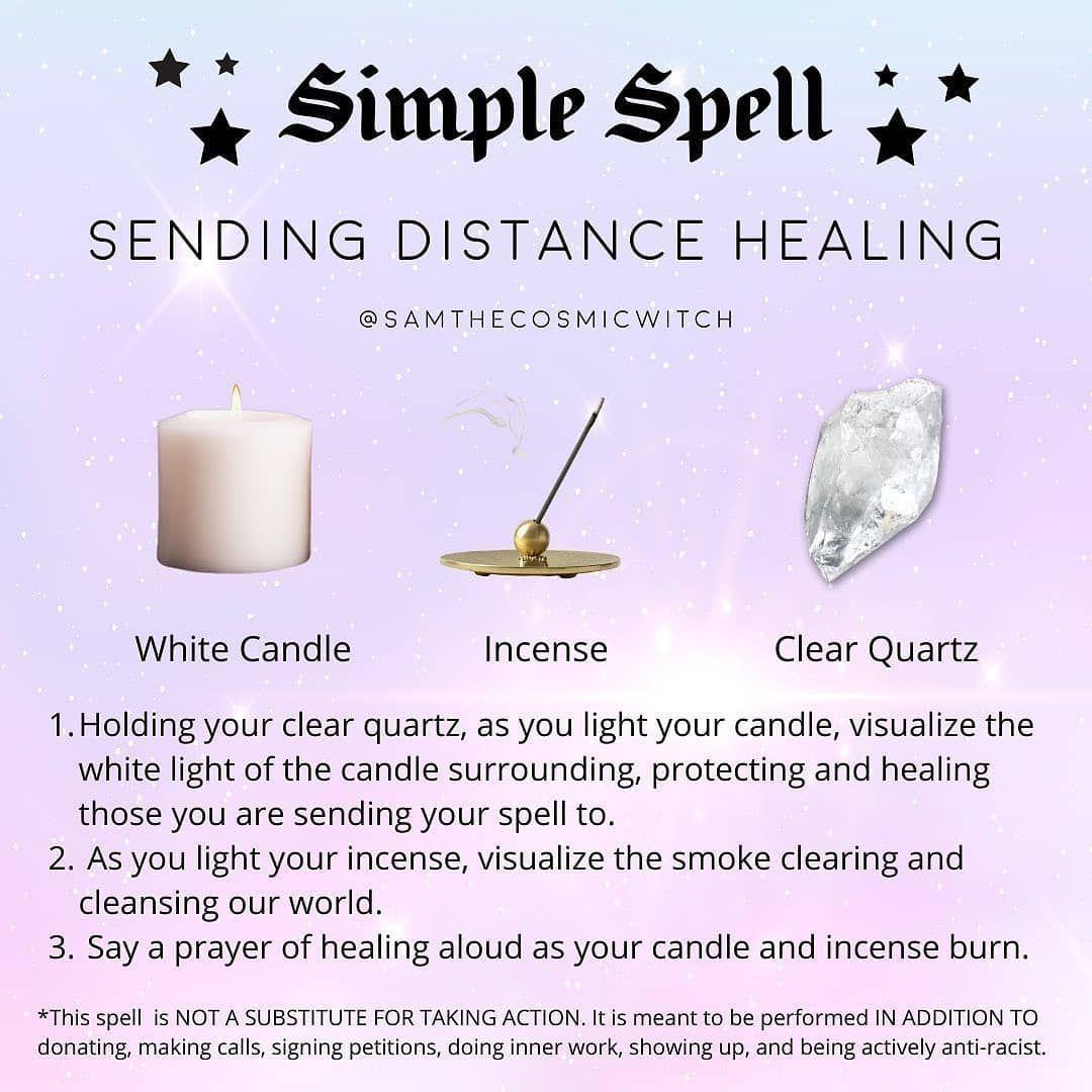 Distance Healing Spell