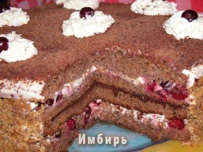 Торт «Черный лес» (Foret noire) : Простые рецепты для вкусной жизни