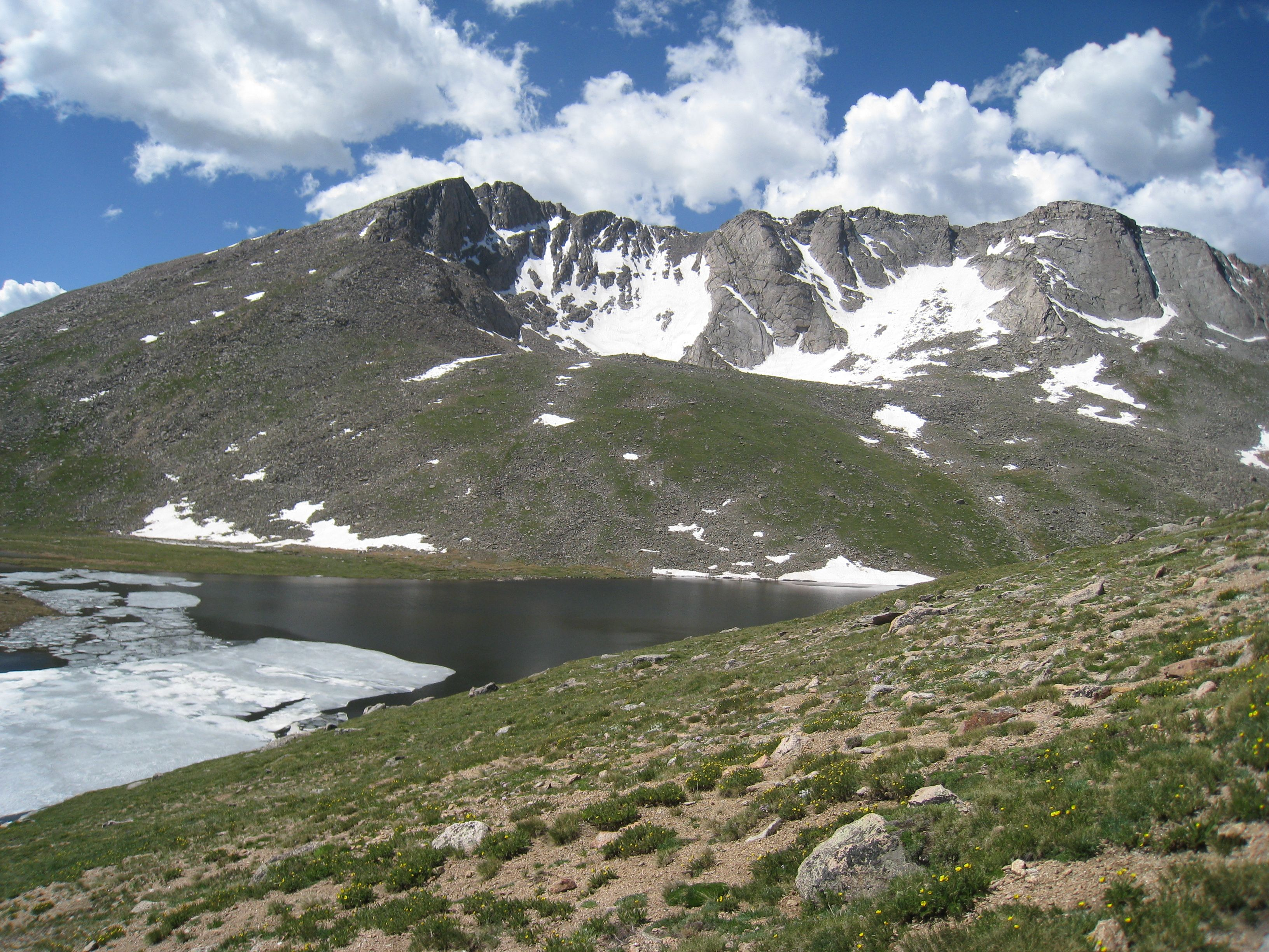 View From Mt Evans Colorado Location Of The Highest - What's the elevation at my location