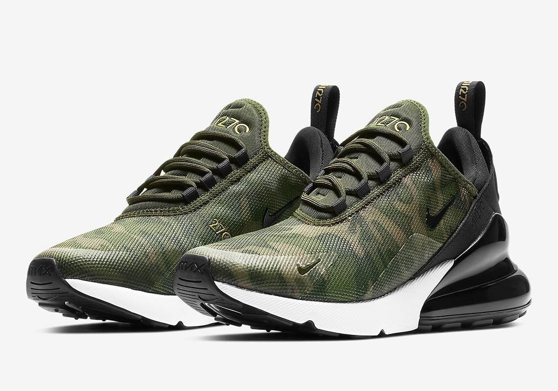Nike Air Max 270 Women S Camo Store List With Images Nike Air Nike Air Max Air Max