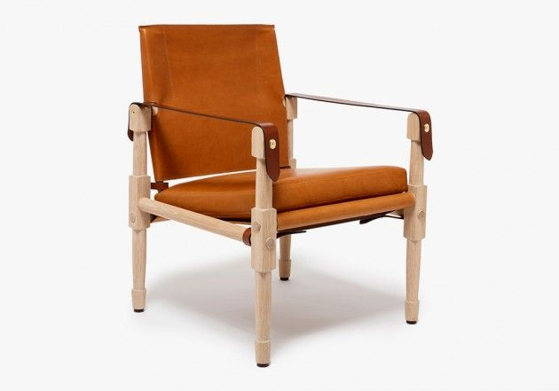 """The masters of luggage and leather goods over at Ghurka flex their design muscles with the recent launch of their """"Campaign Furniture"""" Collection. Top-notch quality is demonstrated in the collection which includes a lounger chair, an 'officer's bar' and a selection of leather trays.Selectism"""