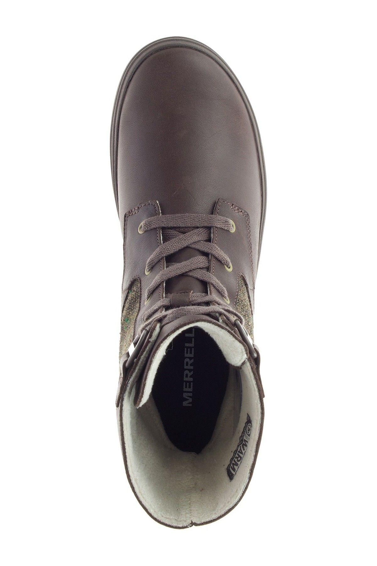 Haven Mid Lace-Up Waterproof Boot by Merrell on @nordstrom_rack