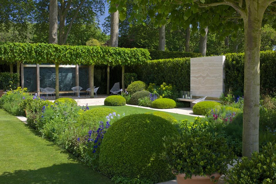 El cuidado de las plantas y el jardin jardines premiados for Chelsea garden designs