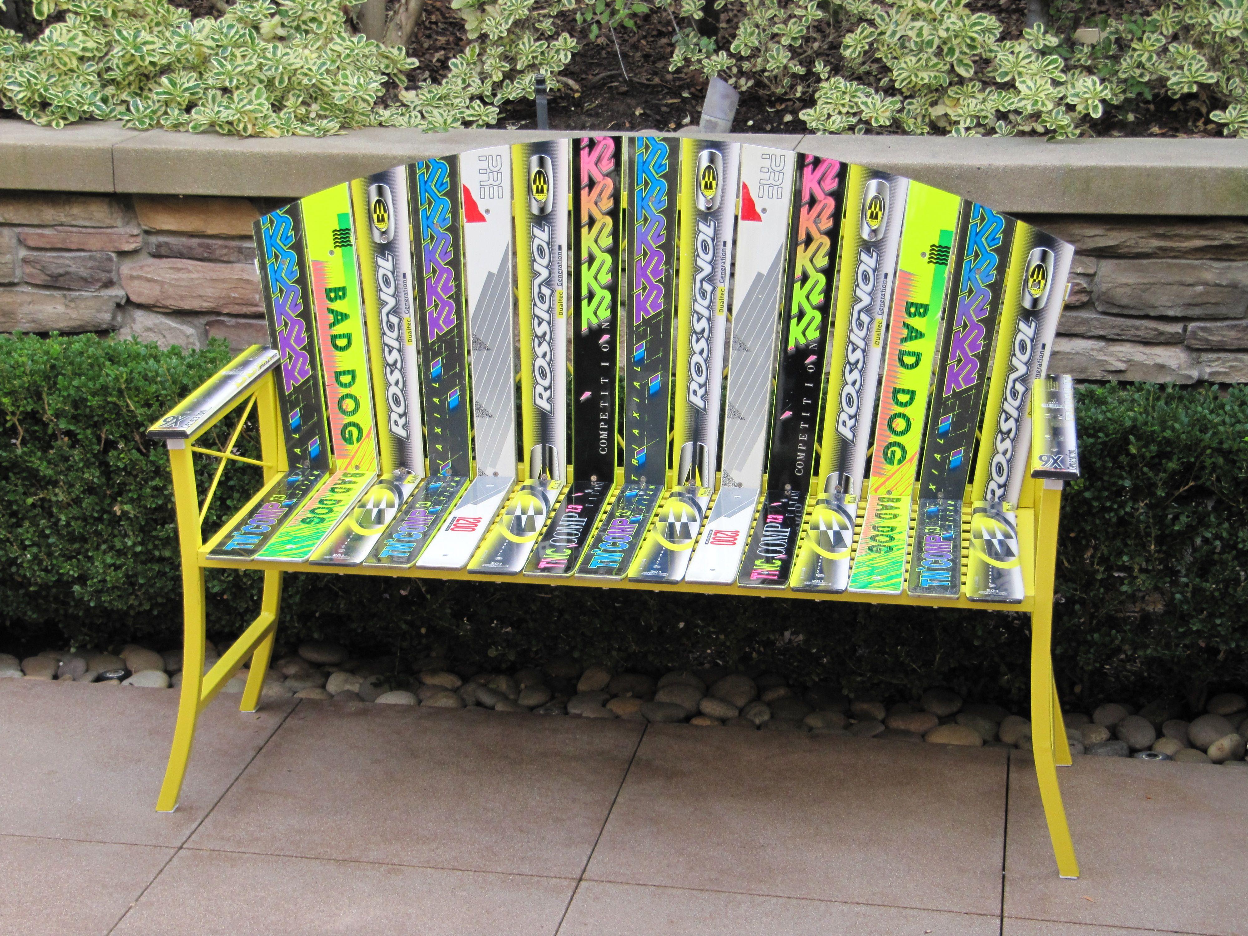 ski bench plans