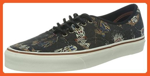 0e3e78e6c8fa Vans Unisex Authentic? (Tribal Leaders) Black Men's 8, Women's 9.5 Medium -  Sneakers for women (*Amazon Partner-Link)
