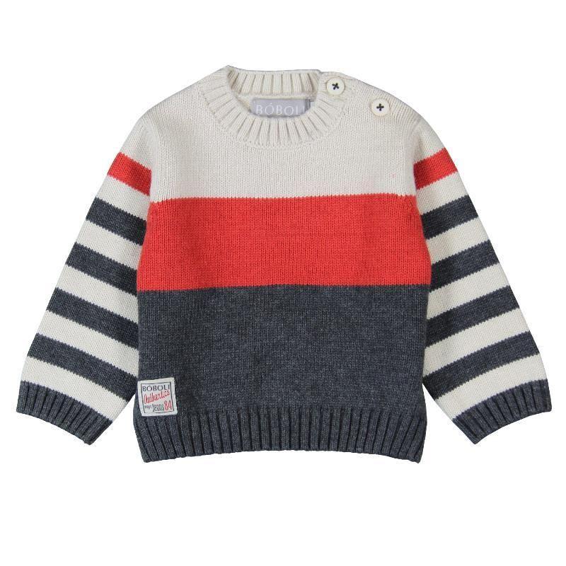 vigore tricotosa crudo de de niño en niño sweater BOBOLI Jersey n0qB16I