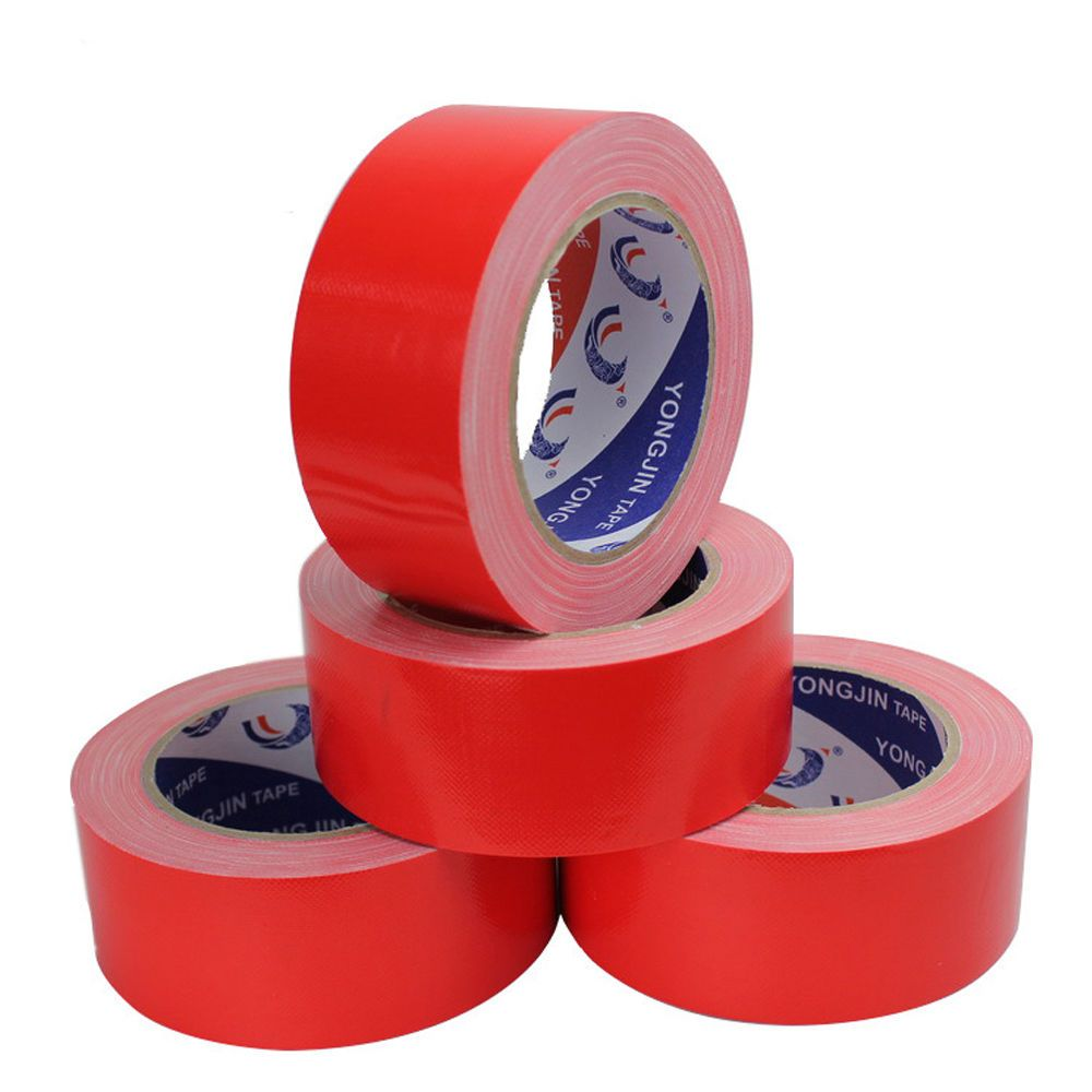 40m/Roll Red Tape Self Adhesive Sticky Packing Parcel Wedding ...