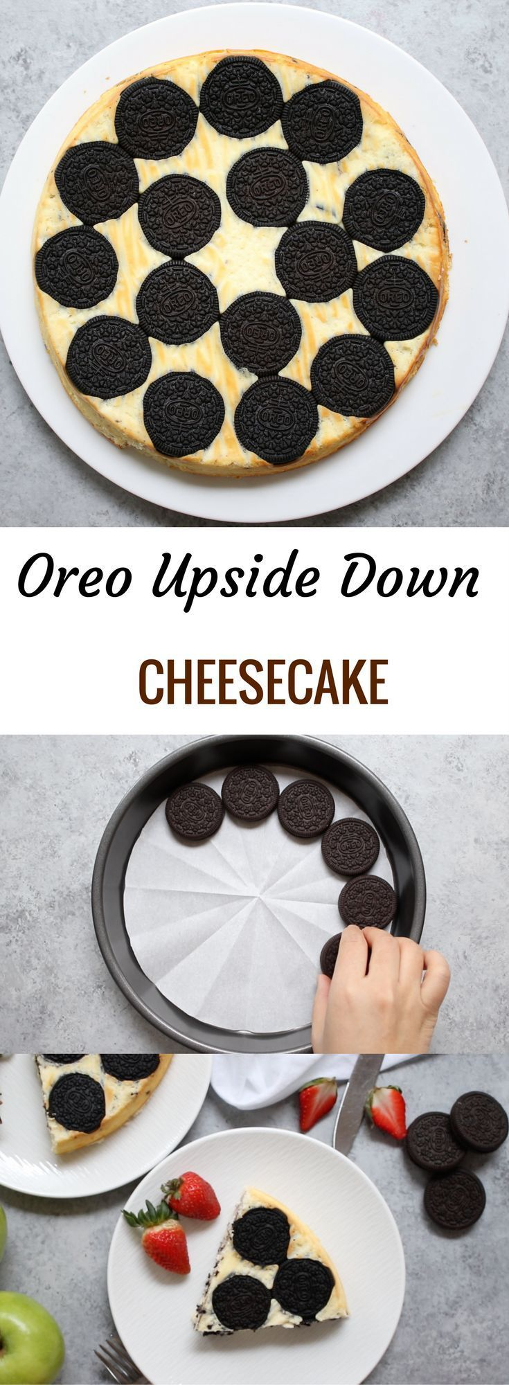 Oreo Upside Down Cheesecake is out of this world yummy. This one is a melt-in-your-mouth dessert that is highly addictive!