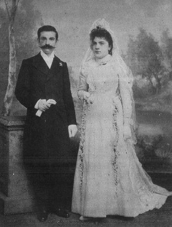 Poghos and Marine TorikianSimonians Samsun 1900