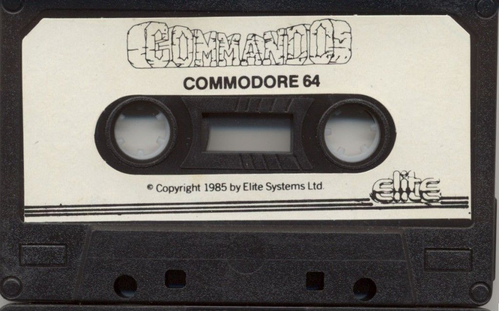 Remake of the Commando game for the Commodore 64  Space to start