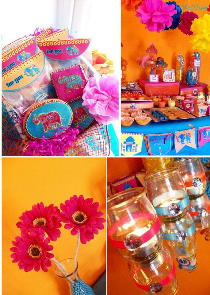 indian engagement party theme ideas Indian Themed Party Ideas