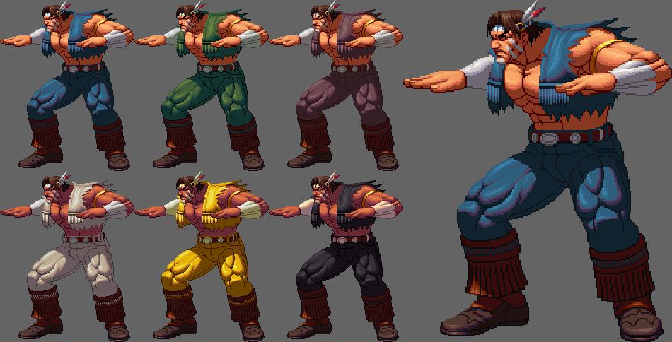 T Hawk Kofxii Style By Ko Ki Capcom Art Street Fighter Pixel Art