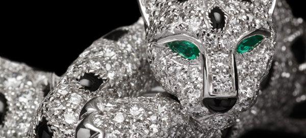 O fascínio da Panthere da Cartier em novas peças sempre marcantes