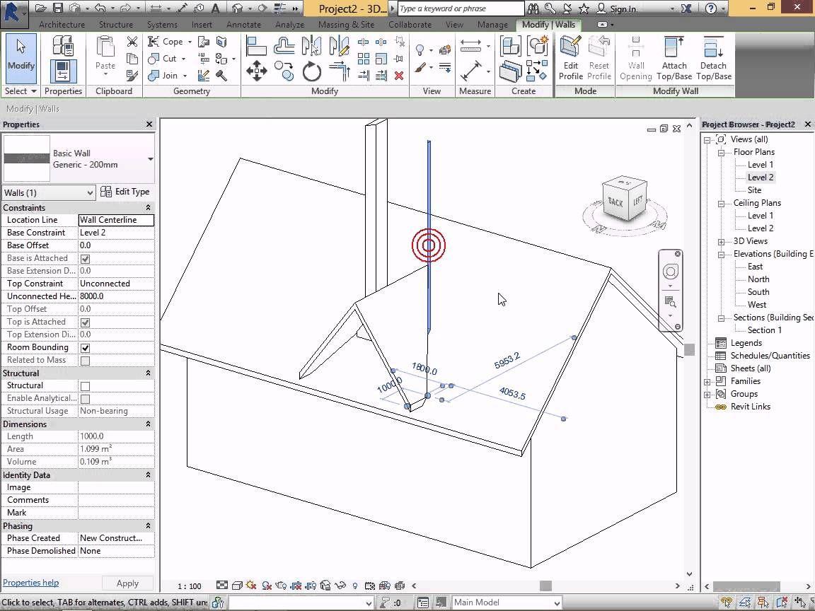 Video Revit 10 2 Hd Lam Cửa Sổ Tren Mai Mai Chua Mai Hỗn Hợp Lớp Họ Structure Architecture How To Plan Bim