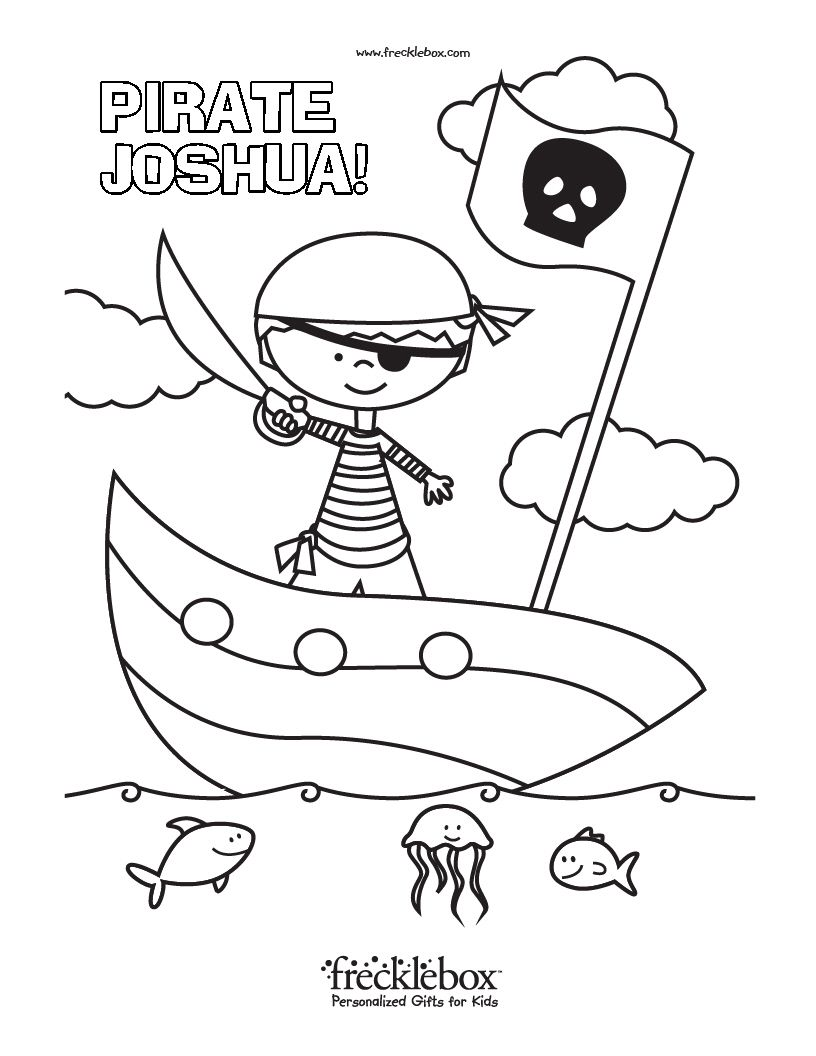 Free Personalized Coloring Pages With Your Child\'s Name | Child ...
