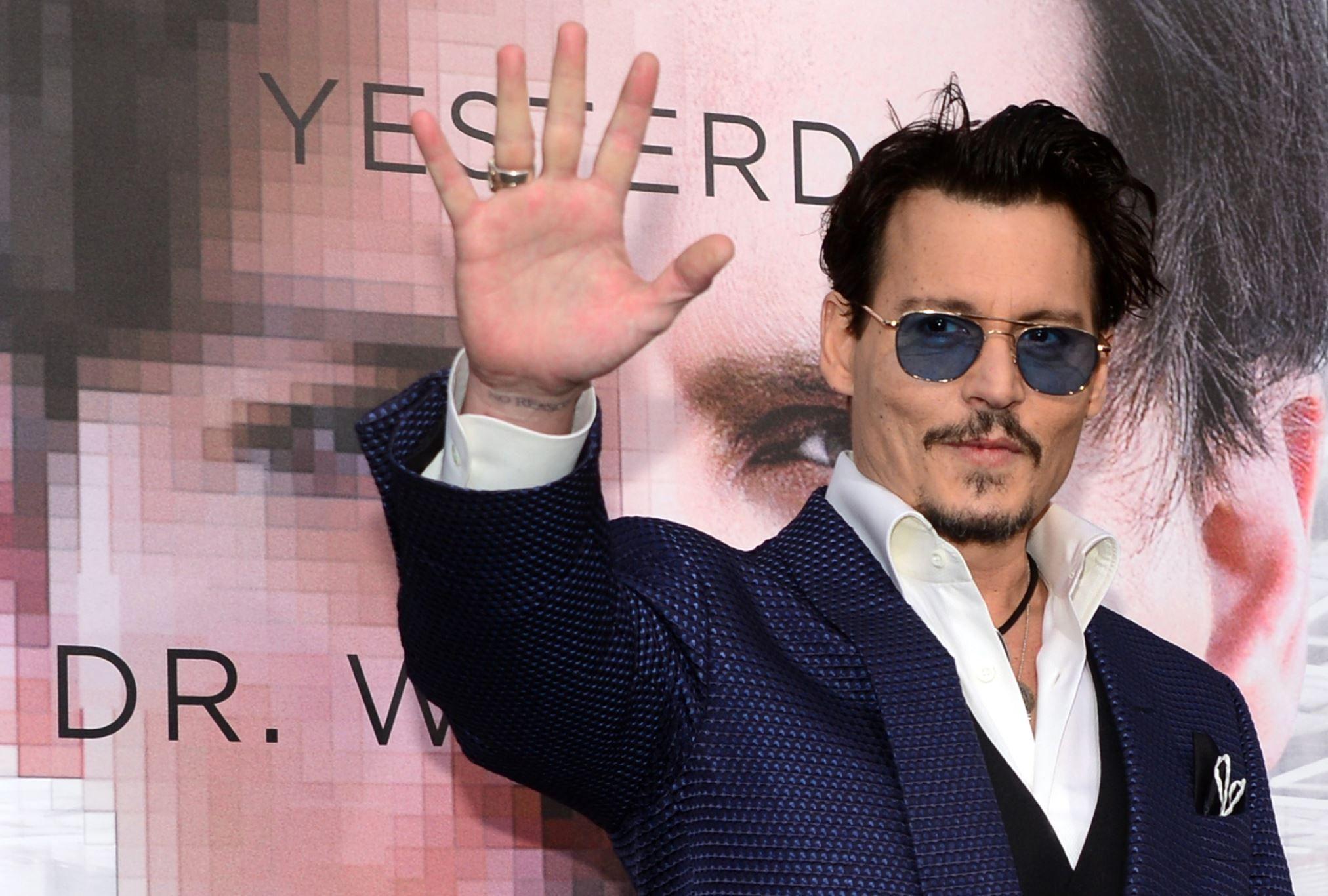 Los altibajos de la vida de Johnny Depp