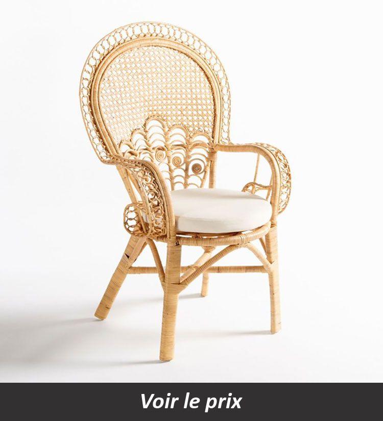 Fauteuil En Rotin 10 Modeles Pour Donner Une Note Exotique A Votre Deco Fauteuil Rotin Fauteuil Osier Et Mobilier Jardin