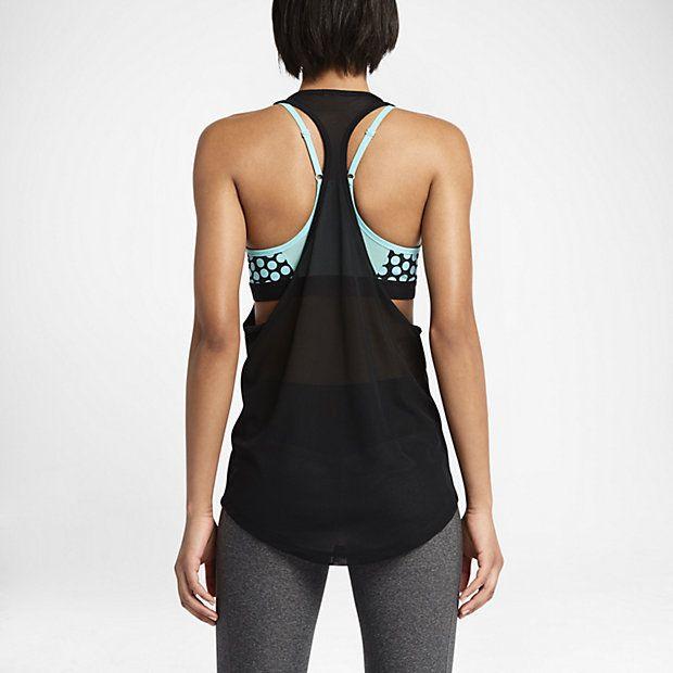 Damska koszulka treningowa bez rękawów Nike Club