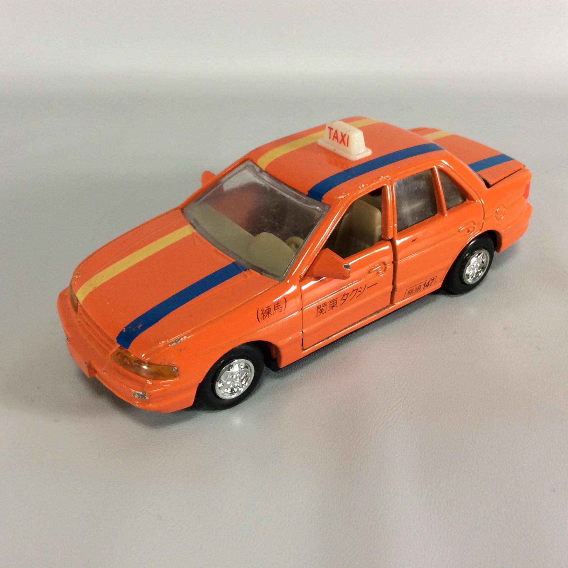 Taxi Diecast Car Japan Characters Made In China 147 Orange Etsy Diecast Cars Diecast Orange Door