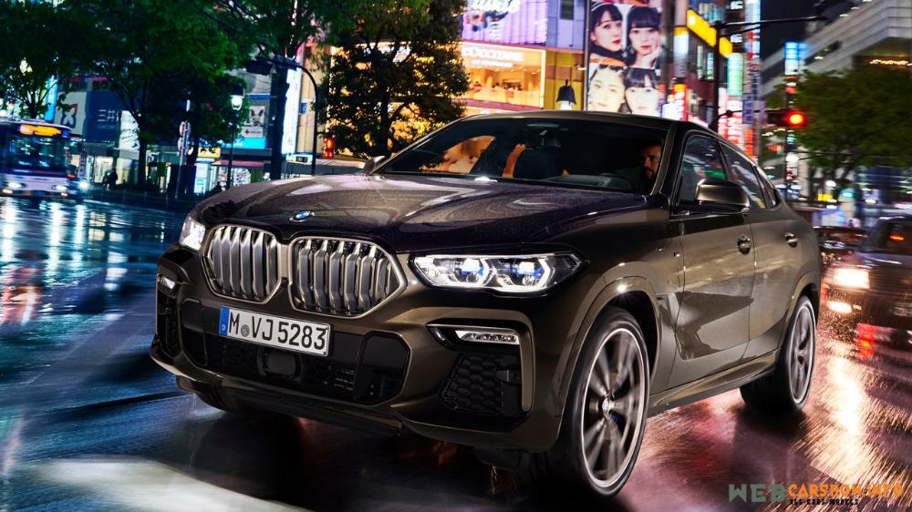 2020 Bmw X6 M50i Photos Information Specs Webcarshow Info Bmw X6 Bmw Luxury Car Brands