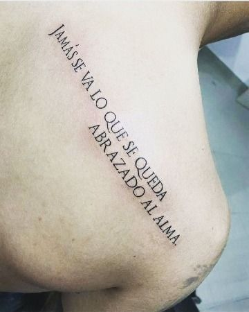 Algunas frases largas para tatuajes desde 5 palabras a mas