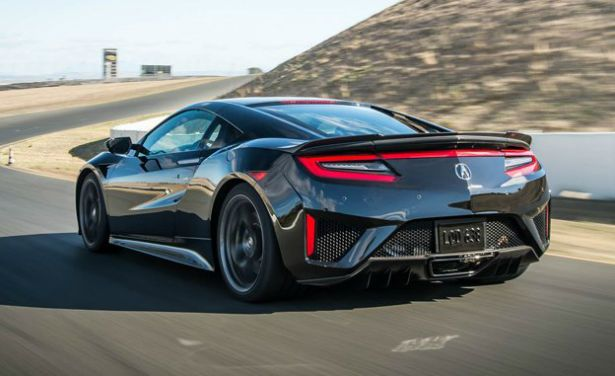 committed 2017 acura nsx is a two seater mid engine sports car