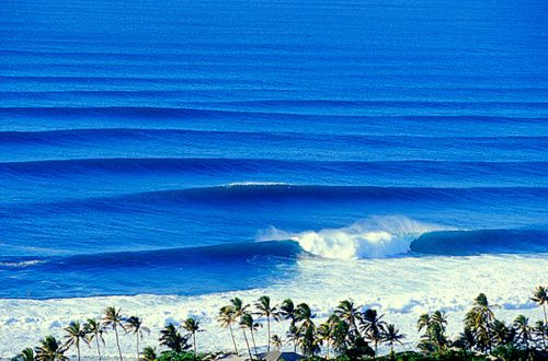 Maui's North Shore - this is some big surf!