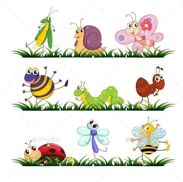 Bugs Cartoon Clip Art Insect Clipart Art Clipart
