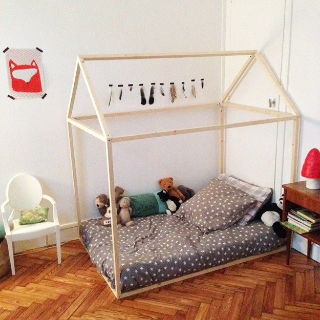 le lit cabane est le rve de beaucoup denfant dcouvrez comment dcorer et amnager une chambre denfant avec un lit cabane - Comment Dcorer Une Chambre D Enfant