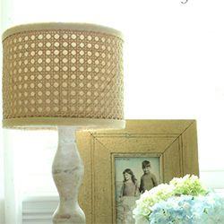 Make A 275 Designer Inspired Cane Lampshade For Under 22 Lamp