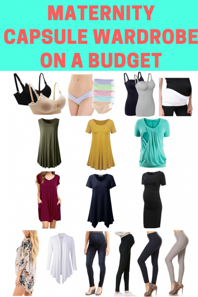 73c3a1929008c Build your own minimalist maternity capsule wardrobe on a budget! Simple  maternity products that work well together and will give you cute  inexpensive ...