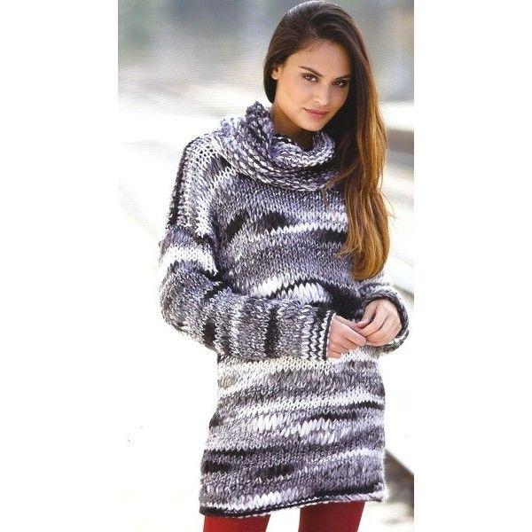 mod le tricoter gratuit pull femme laine katia ushuaia tricotsssssssss pinterest pull. Black Bedroom Furniture Sets. Home Design Ideas
